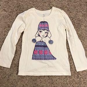 Girls medium 7/8 Children's Place winter T-shirt